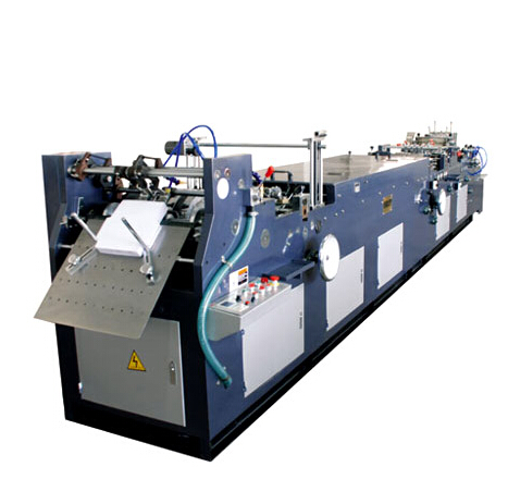 ZNTH-518 518A FULL AUTOMATIC MULTI-FUNCTIONAL ENVELOPE GLUING & FORMING MACHINE