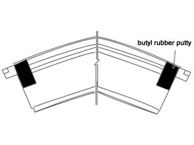 butyl rubber putty
