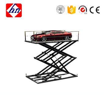 3 kw 4.8m Heavy Load Capacity One Ton Stationary Scissor Lifts