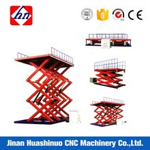 mobile hydraulic aluminium lifting platform