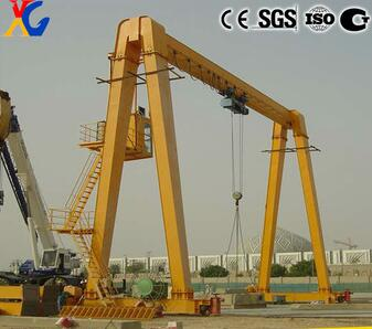 Good Performance MG Double Girder Gantry Crane 25t for Sale in China