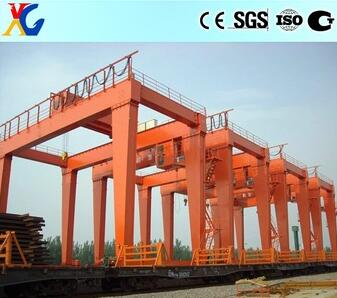 Heavy duty double girder gantry crane 50 ton 70 ton 100 ton