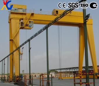 2017 High Performance MG Double Girder 20 ton Gantry Crane for Hot Sale