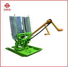 Hand Rice Transplanter,2 rows Rice Seeder,Manual Rice Transplanter