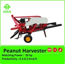 Tractor 3 point linkage peanut harvester