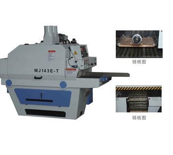 Автоматическая многопластиночная продольно-распиловочная машина MJ143E-T (специальное изделие)