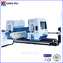 Solid wood floor double end tenoner QMX6025A