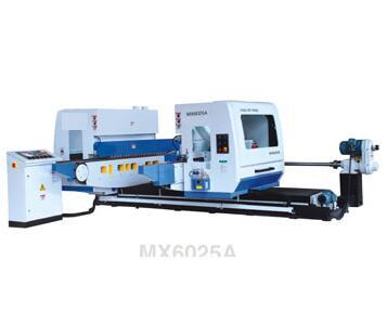 Двухцокольный обрезной шипорезный станок серии MX60