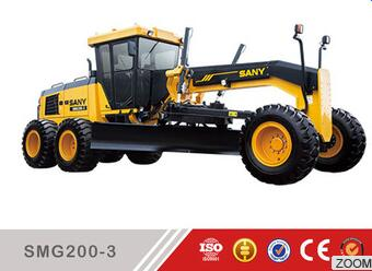 Sany SMG200-3 China Construction Equipment Motorized Road Motor Grader