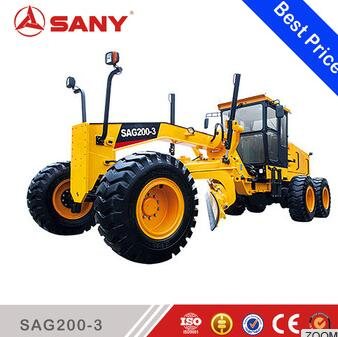 Sany SAG200-3 Small mini Motor Grader for Sale Tractor Road grader motor