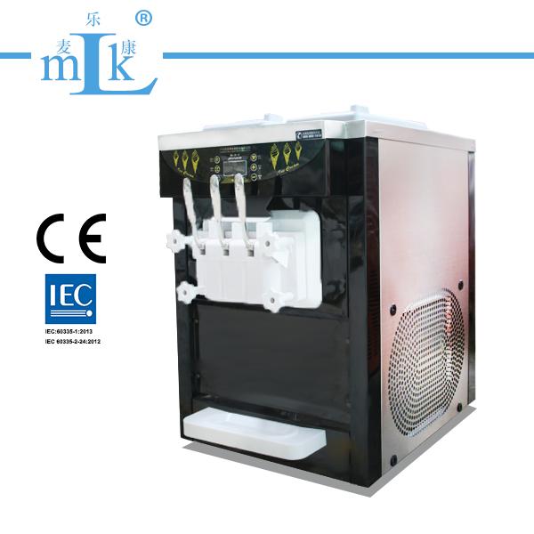 25L Table Top Ice Cream Machine Ti/Steel