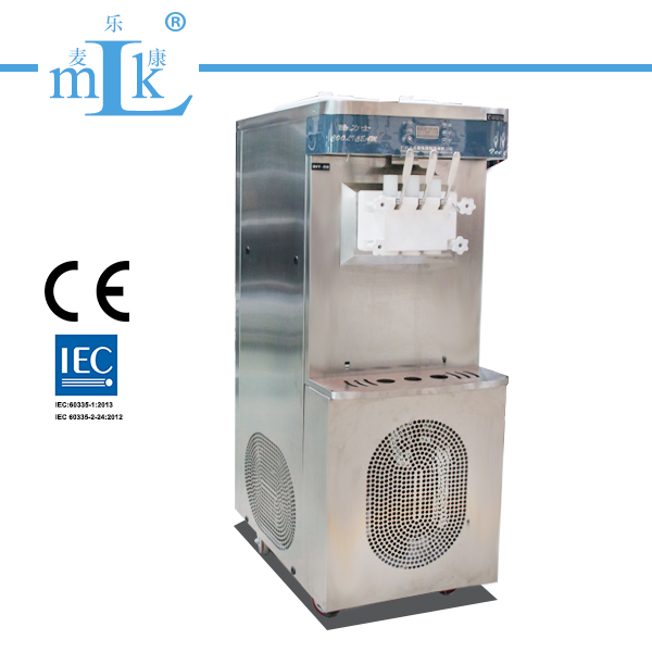 25L Floor Stand Stainless Steel Soft Ice Cream Machine
