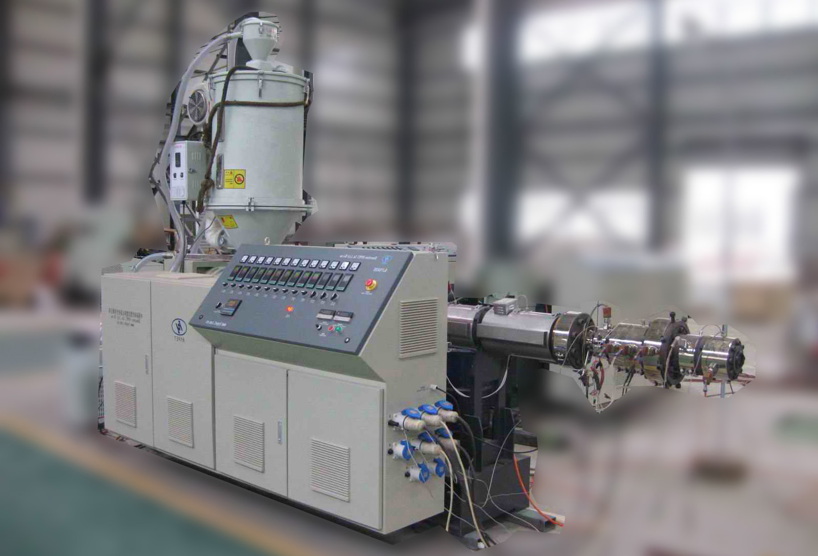 New high efficient single screw extruder