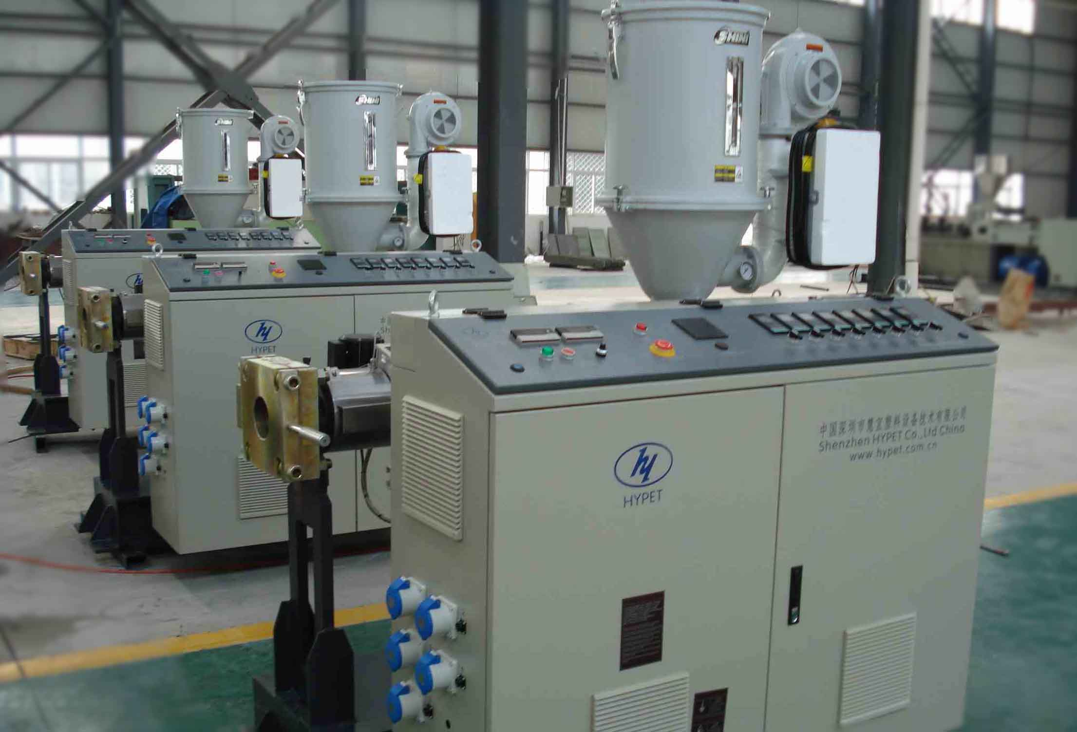 Standard single screw extruder