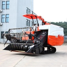 Iran hot selling 4LZ-4.0 High quality cheap rice wheat combine harvester made in china