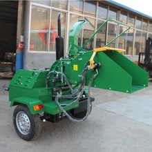 WC-22 22HP diesel engine selfpower Hydraulic Wood chipper with CE certificate