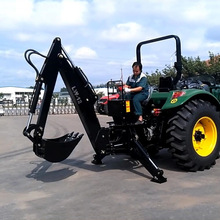 CE certificate tractor rear 3 point hitch Backhoe for sale