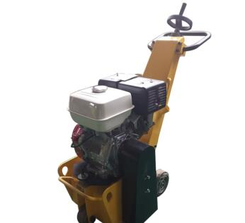 High efficiency concrete scarifier machine
