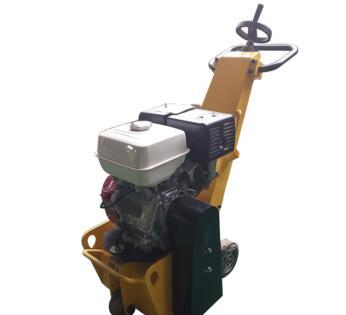 High efficiency concrete scarifier machine