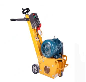Electric Concrete Scarifier Used For Construction Areas