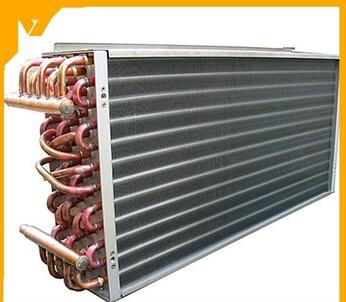 brazed aluminum thermal heat exchanger stainless steel tube hydraulic oil cooler heat exchanger