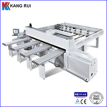 Postforming function computer size sorting machine and panel saw