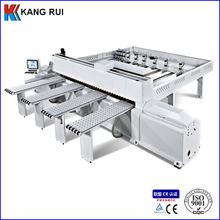Postforming function computer size sorting machine and panel saw