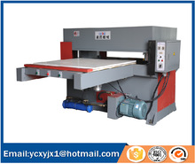 Automatic feeding PVC cutting machine for making floor material