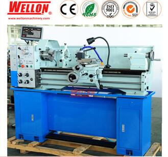 High Precision Metal Bench Lathe Machine / Gap Bed Lathe Price CZ1237G/1,CZ1337G/1