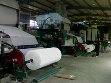 High quality 3 tons/ day 1092mm toilet paper making plant tissue paper production line