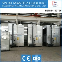 High Effciency and Energy Saving Cross Flow Closed Circuit water cooling equipment Cooling tower