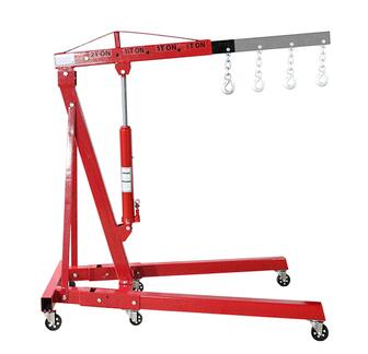 ISO9001 High quality 3ton Hydraulic Folding Shop Crane on sale
