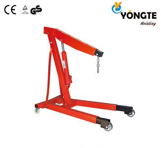 YT9205 Series Portable small lift hydraulic engine shop crane for sale