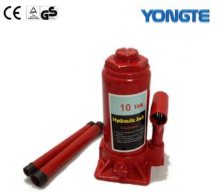 1-10T Heavy duty hydraulic jack price/ two stages hydraulic bottle jack