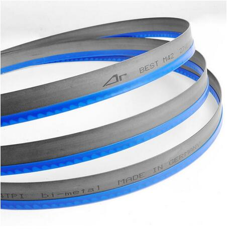 Carbon steel cutting band saw blade