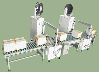 ISO9001 380V/50HZ Automatic eletric control strapping seal machine
