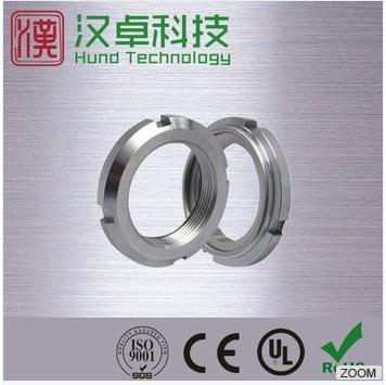 China high precise metal insert bearing lock nut