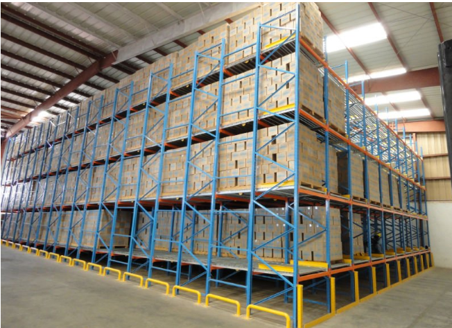 High warehouse storage racking