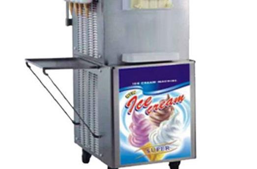 S004 Shineho soft serve ice cream machine with cone maker