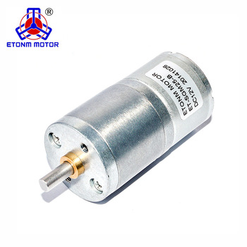 ET-SGM25-B 25mm micro low speed 3v 6volt 3rpm small gear dc motor with spur gearbox for rotating bbq barbecue skewers