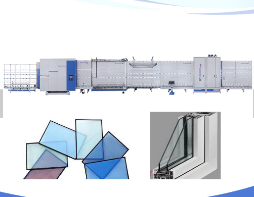 CE standard Insulating Glass Production Line machine/double glass processing machine