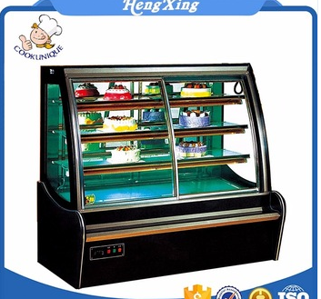2017 High quality New product cake refrigerator showcase cake display freezer