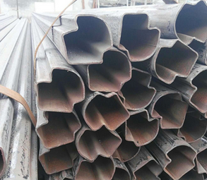 Cold drawn seamless special shape steel pipe and section tube
