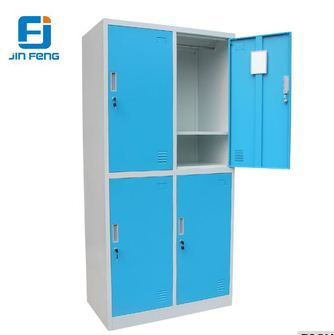 Gym 4-doors Steel Changing Room Cabinet Clothes Locker