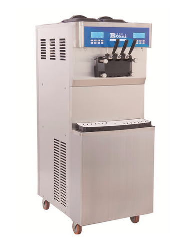 hot selling ice cream production machine for shopping mall use
