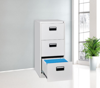 2017 new arrival office filing drawer cabinet with plastic handle