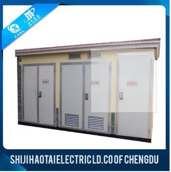 European type 0.4KV/10KV power distribution boxes transformer substation