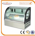 2017 new style glass food warmer display showcase