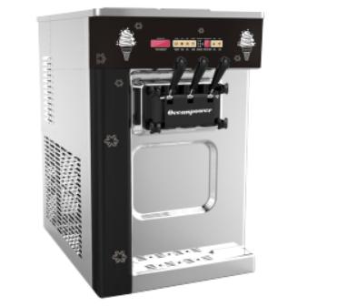 High Quality Big Capacity Soft Serve Swirl Ice Cream Maker Machine OP132BA
