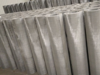 Chinese hot sale 400 micron stainless steel wire mesh